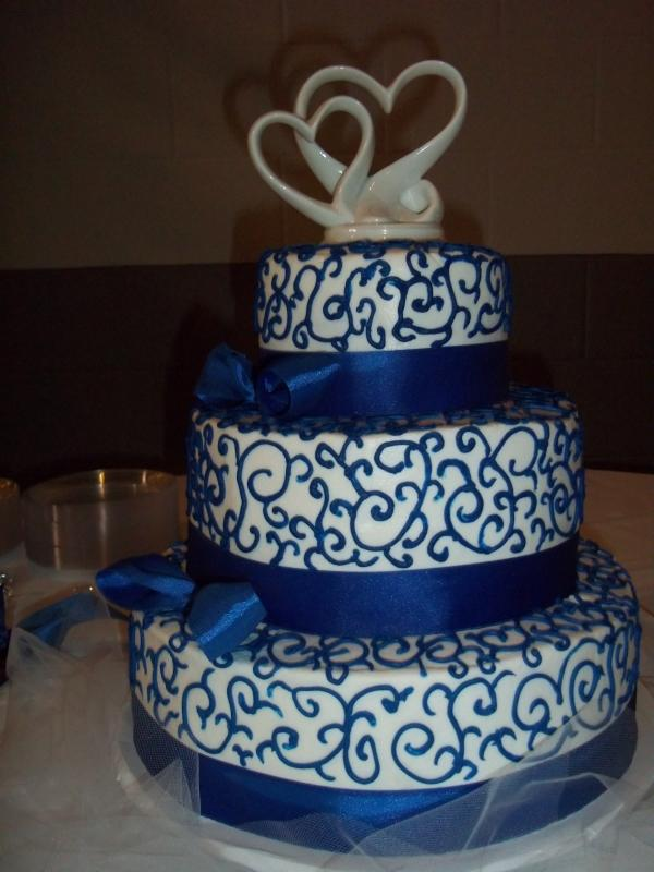 Modré torty inšpirácie - Obrázok č. 23