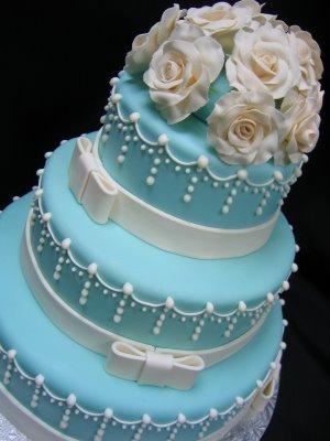 Modré torty inšpirácie - Obrázok č. 33