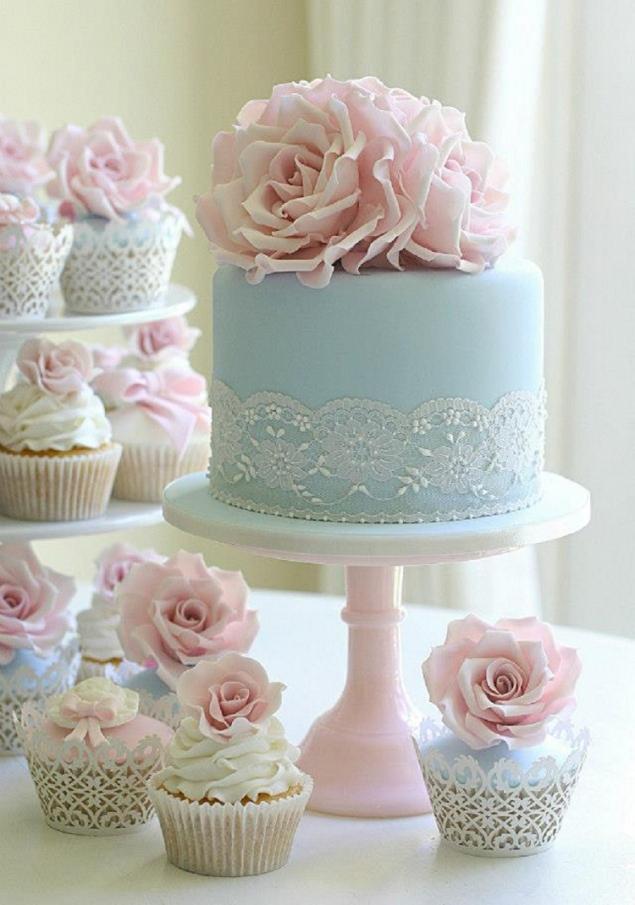 Modré torty inšpirácie - Obrázok č. 37