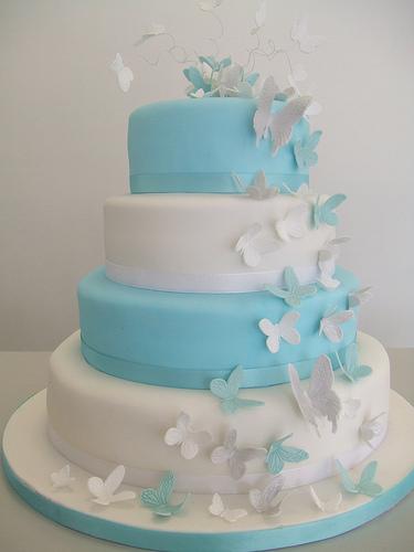 Modré torty inšpirácie - Obrázok č. 39