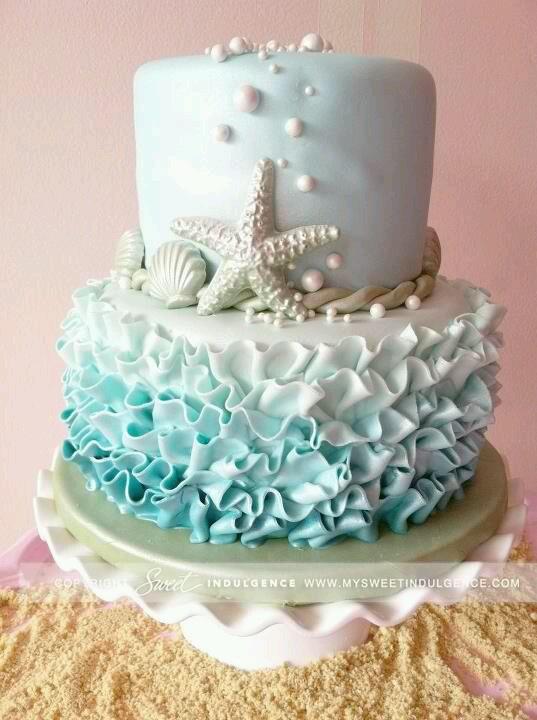 Modré torty inšpirácie - Obrázok č. 48