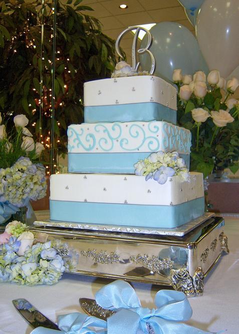 Modré torty inšpirácie - Obrázok č. 49