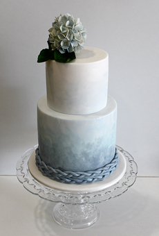 Modré torty inšpirácie - Obrázok č. 50