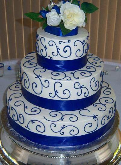 Modré torty inšpirácie - Obrázok č. 51
