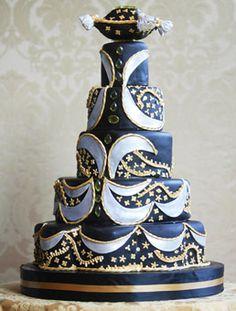 Modré torty inšpirácie - Obrázok č. 52