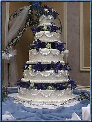 Modré torty inšpirácie - Obrázok č. 56