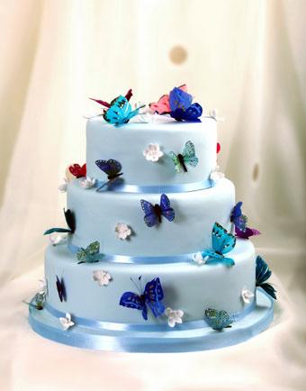 Modré torty inšpirácie - Obrázok č. 62