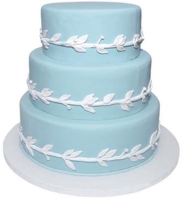 Modré torty inšpirácie - Obrázok č. 68