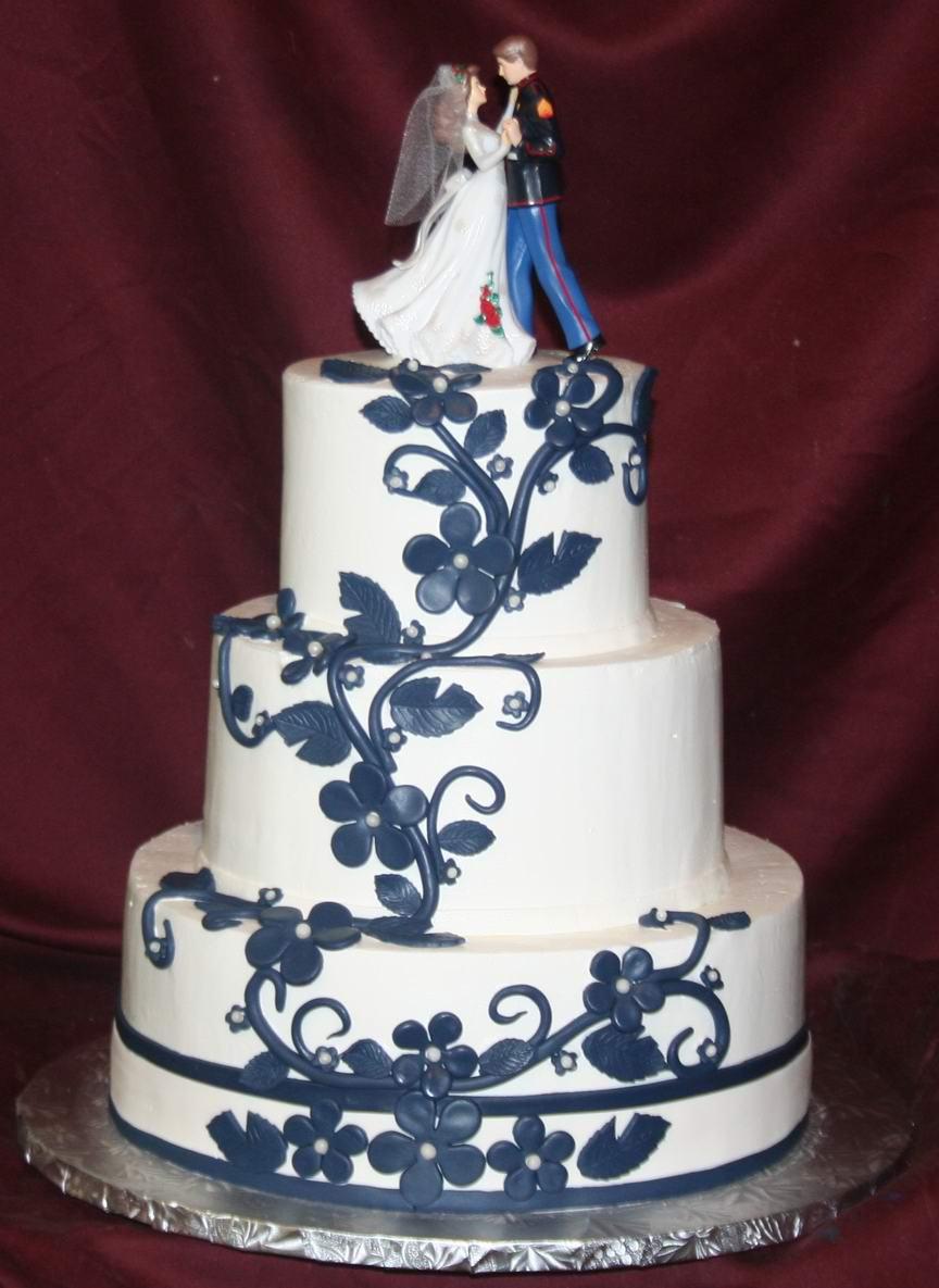 Modré torty inšpirácie - Obrázok č. 71