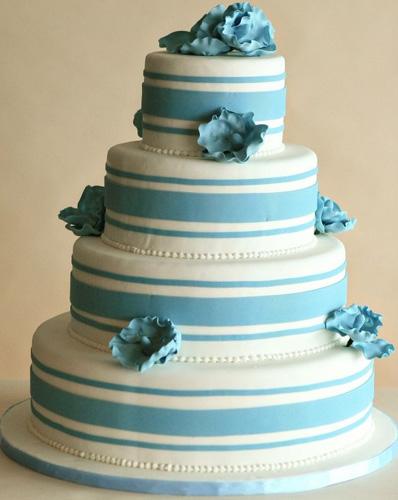 Modré torty inšpirácie - Obrázok č. 72