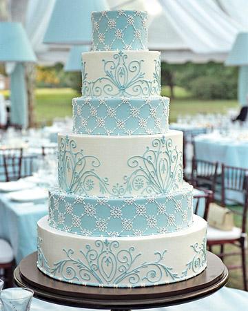 Modré torty inšpirácie - Obrázok č. 73