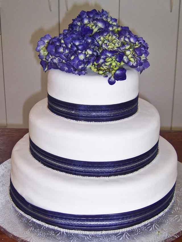 Modré torty inšpirácie - Obrázok č. 75