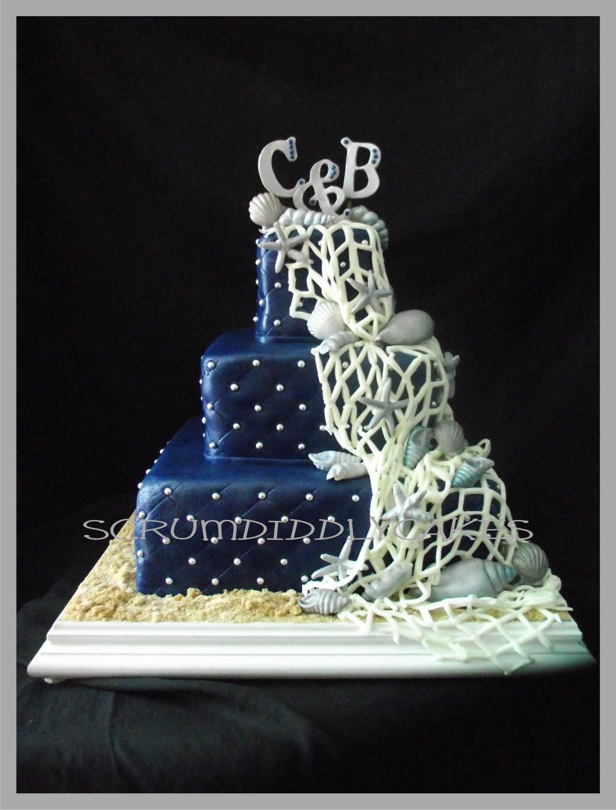 Modré torty inšpirácie - Obrázok č. 76