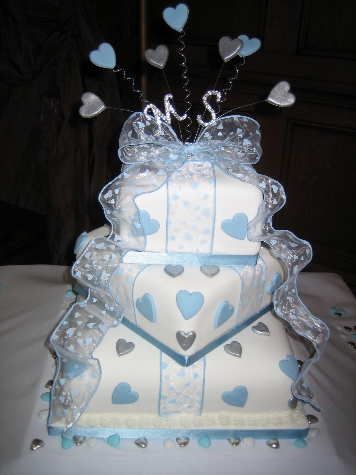 Modré torty inšpirácie - Obrázok č. 77