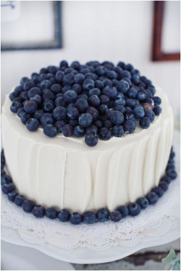 Modré torty inšpirácie - Obrázok č. 79