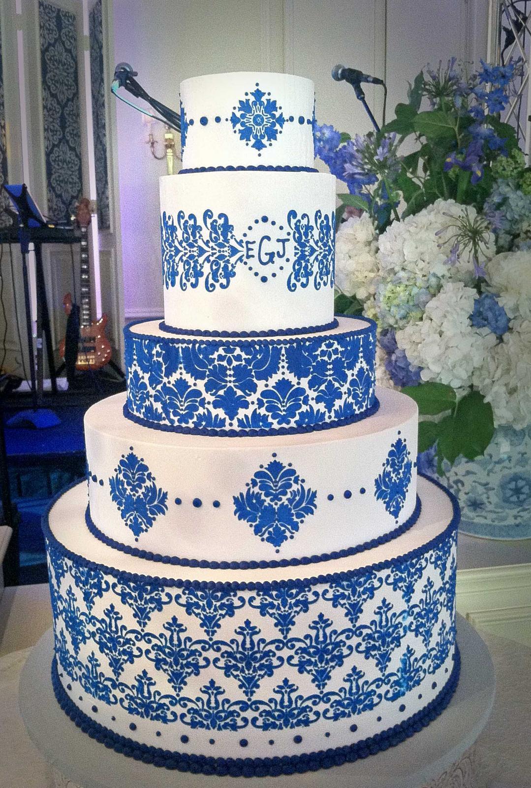 Modré torty inšpirácie - Obrázok č. 81