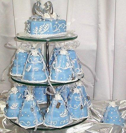 Modré torty inšpirácie - Obrázok č. 83