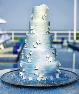 Modré torty inšpirácie - Obrázok č. 84