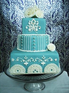 Modré torty inšpirácie - Obrázok č. 86