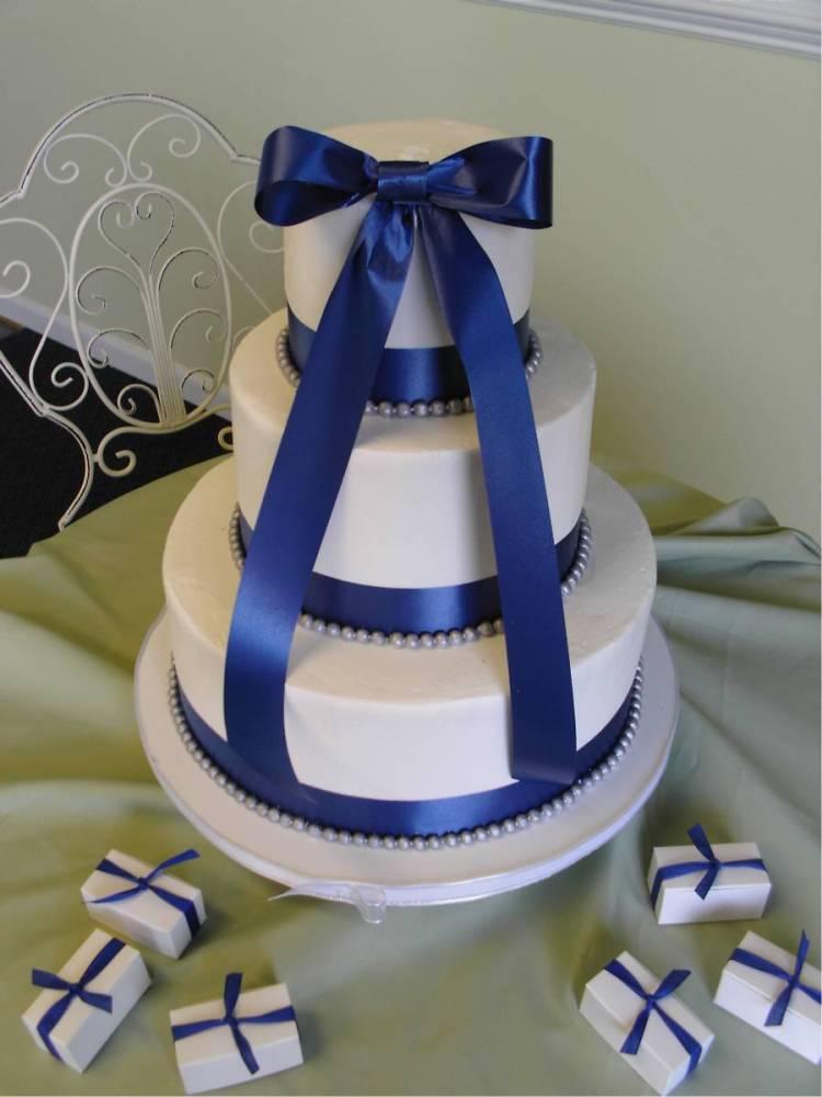 Modré torty inšpirácie - Obrázok č. 90