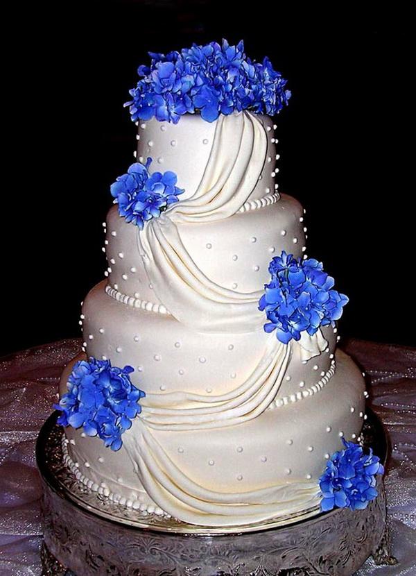 Modré torty inšpirácie - Obrázok č. 92