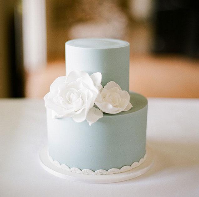 Modré torty inšpirácie - Obrázok č. 97
