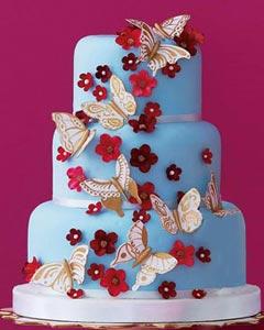 Modré torty inšpirácie - Obrázok č. 100