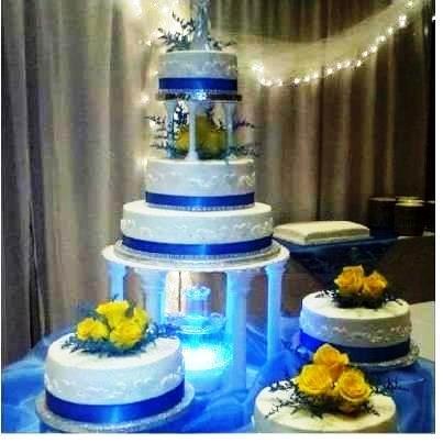 Modré torty inšpirácie - Obrázok č. 103