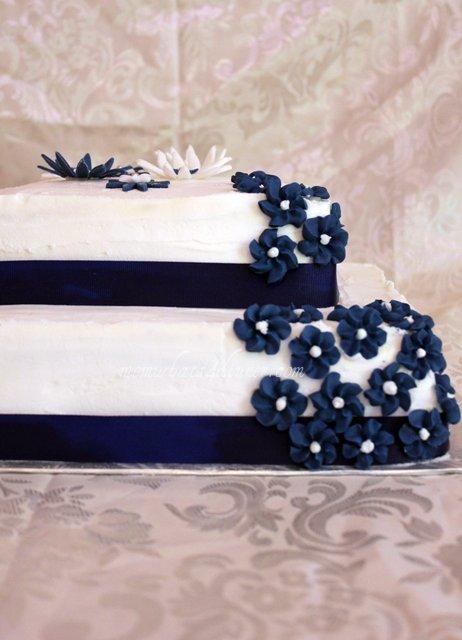 Modré torty inšpirácie - Obrázok č. 133