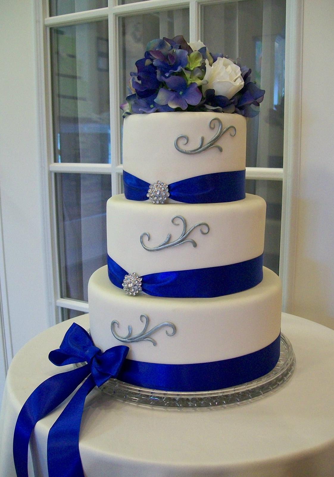 Modré torty inšpirácie - Obrázok č. 142