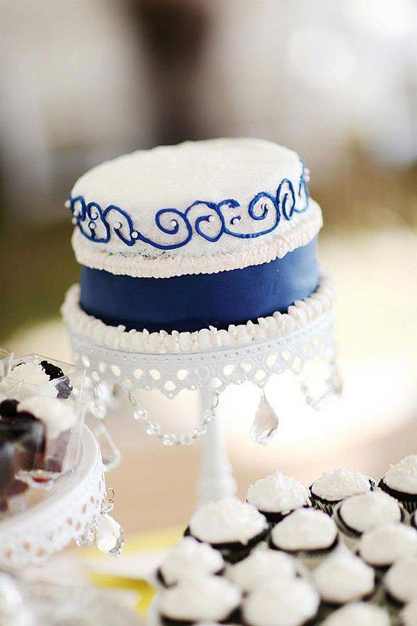 Modré torty inšpirácie - Obrázok č. 143