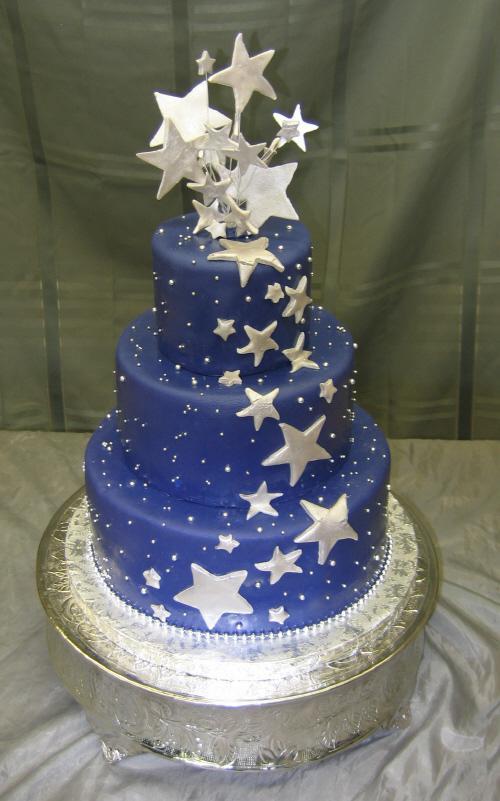 Modré torty inšpirácie - Obrázok č. 155