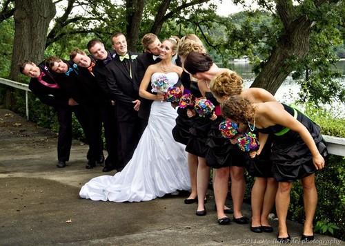 Zábavné svadobné fotografie inšpirácie - Obrázok č. 10