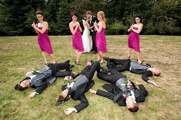 Zábavné svadobné fotografie inšpirácie - Obrázok č. 13