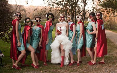 Zábavné svadobné fotografie inšpirácie - Obrázok č. 23