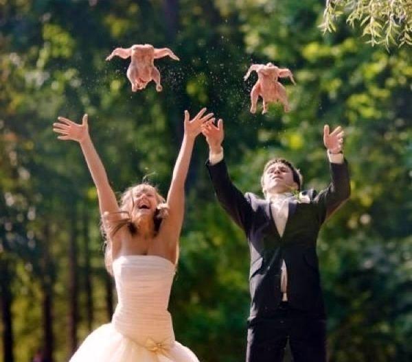 Zábavné svadobné fotografie inšpirácie - Obrázok č. 31
