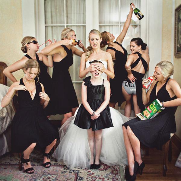 Zábavné svadobné fotografie inšpirácie - Obrázok č. 46