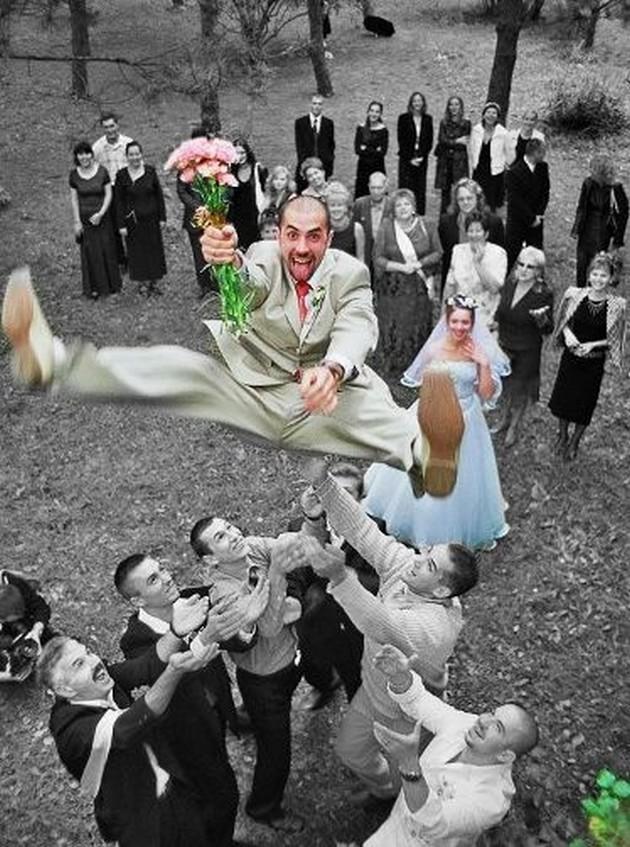 Zábavné svadobné fotografie inšpirácie - Obrázok č. 76