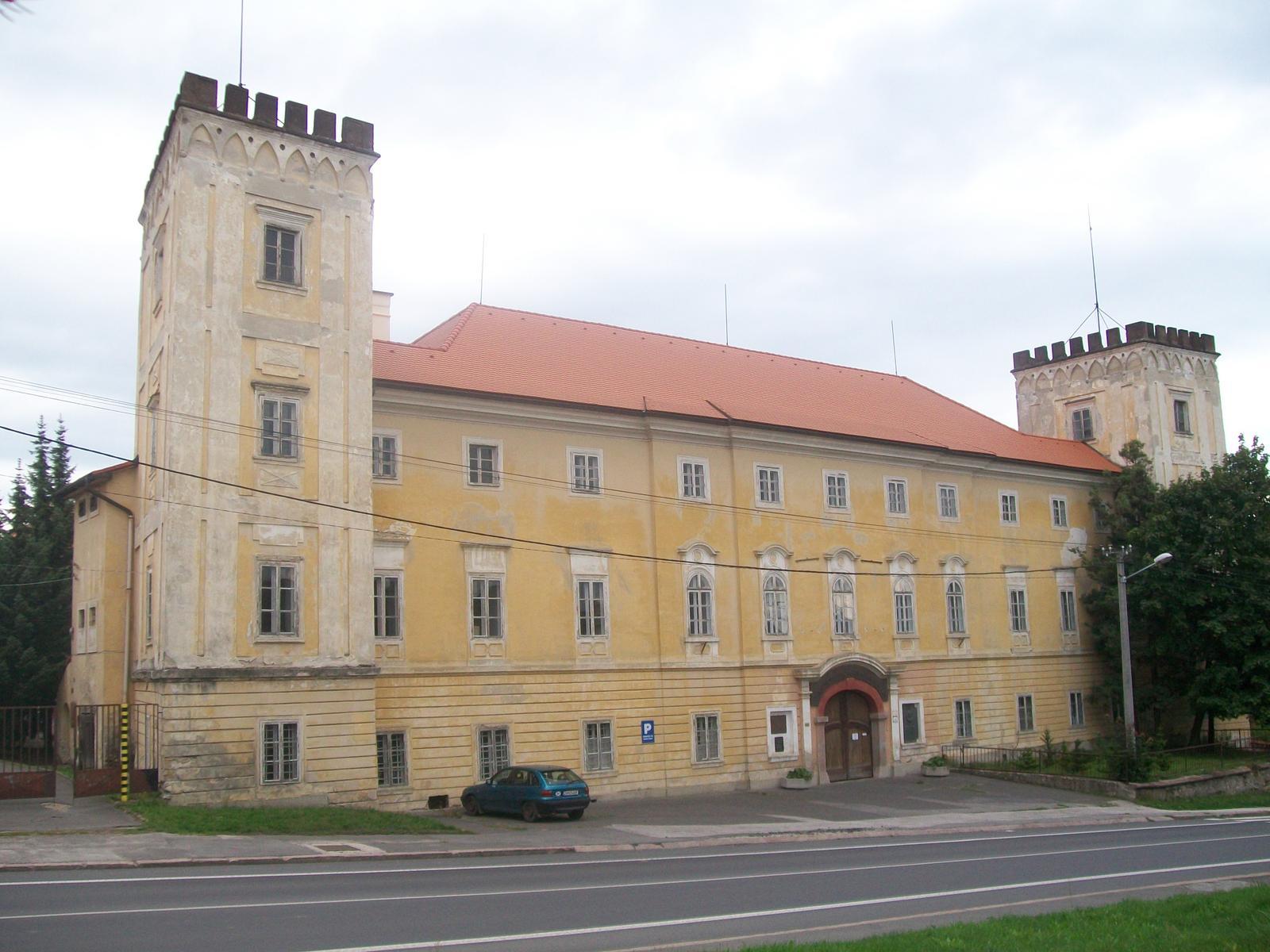 Kaštiele a zámky na Slovensku - Ziar nad Hronom
