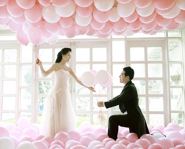 Balóny na svadbe - Obrázok č. 1