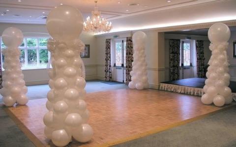 Balóny na svadbe - Obrázok č. 2