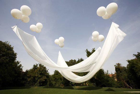 Balóny na svadbe - Obrázok č. 15