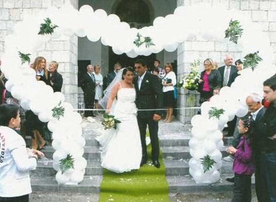 Balóny na svadbe - Obrázok č. 49