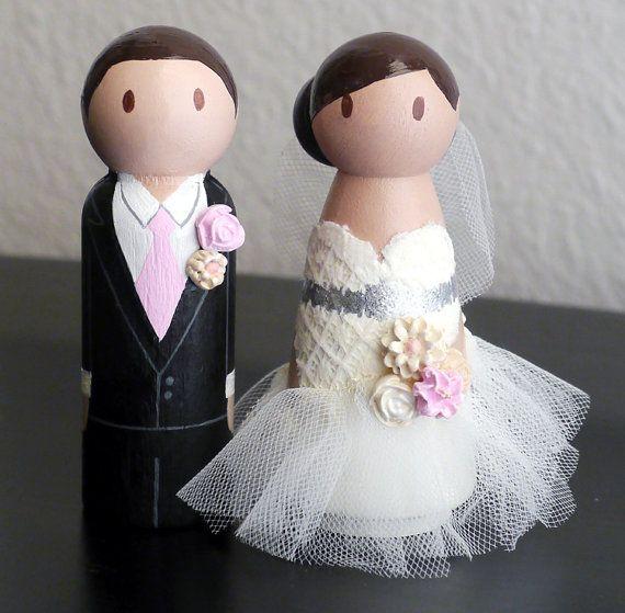 Figúrky na svadobnú tortu - Obrázok č. 3