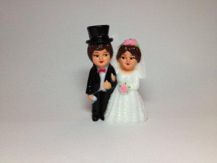 Figúrky na svadobnú tortu - Obrázok č. 18