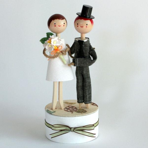 Figúrky na svadobnú tortu - Obrázok č. 38