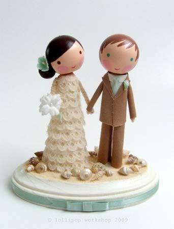Figúrky na svadobnú tortu - Obrázok č. 41