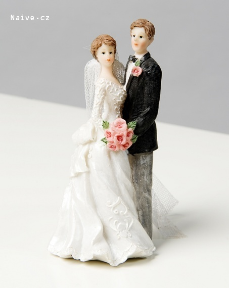 Figúrky na svadobnú tortu - Obrázok č. 46