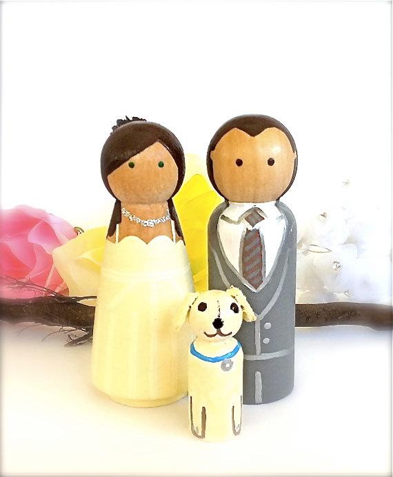 Figúrky na svadobnú tortu - Obrázok č. 21