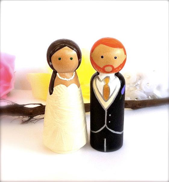 Figúrky na svadobnú tortu - Obrázok č. 26